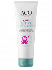 ACO SUN Kids Active sun lotion spf 50+ big size 250 ml