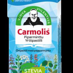 Carmolis piparminttu yrttipastilli 1x45 g (jaettu)